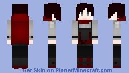 RWBY - Ruby Rose (Slayer Outfit) Minecraft Skin