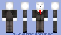 slenderman creepypasta skin series minecraft skin