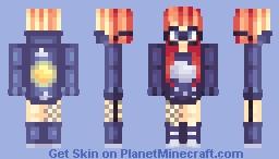 that weather woman wannabe Minecraft Skin