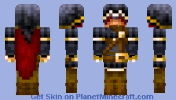 Elite Estena mage Minecraft Skin