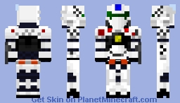 "Patlabor AV-98 Ingram ""Alphonse"" (1.8 Version) Minecraft Skin"