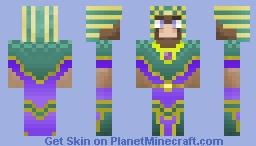Camel Pharaoh Tiu Of The Eastern Wastelands (Desert Skin Contest) Minecraft Skin