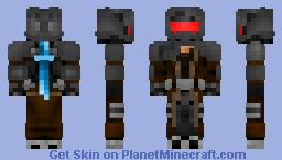 Nida, the slayer Minecraft Skin