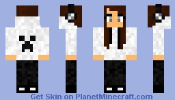 JessicaTruesong - WHITE (Headphones) Minecraft Skin