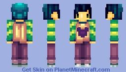 Mascot: Ecstasy Minecraft Skin