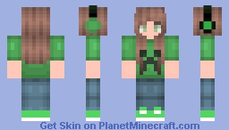 ΩKikiΩ Request -  Gamer Girl  Minecraft Skin