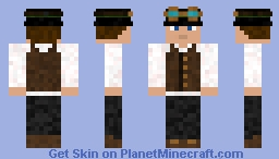 Generic Steampunk Person Minecraft Skin