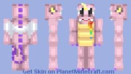 Pink Unicorn Dragon Minecraft Skin
