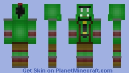 Orc Grunt (WoW- I know, Its horrible right? XD) Minecraft Skin