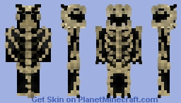 Bone Dragon Minecraft Skin
