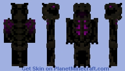 Undead Ender Dragon Minecraft Skin