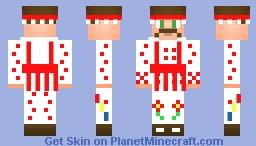 Căluşar Minecraft Skin