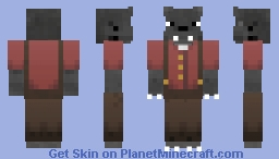 Wolf (removable clothes)