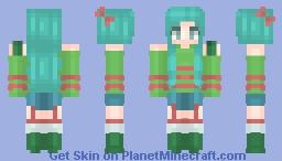 //sweet ocean remake// Minecraft Skin