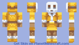 Yellow Winter Shyguy [PBL9] Minecraft Skin