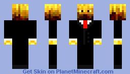 Tuxedo Blaze Minecraft Skin