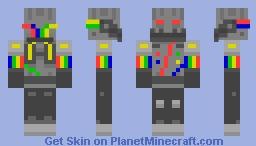 CARAZZEEE ROBOT TING Minecraft Skin