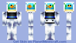 The Bubz, an Aquarium and the Universe (WSC W2) Minecraft Skin