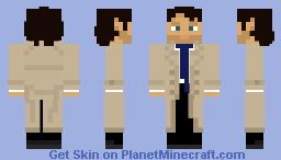 1.8 Skin - Castiel Minecraft Skin