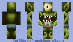Kang / Kodos (The Simpson's Treehouse of Horror) Minecraft Skin