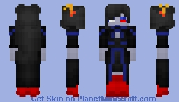 Homestuck - Marquise Spinneret Mindfang [Looks better in 3D] Minecraft Skin