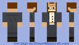 Oscar Kokoschka Minecraft Skin