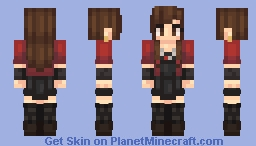 Wanda Maximoff/Scarlet Witch - Avengers AoU Minecraft Skin