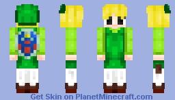 ΚΔςυΜι♥ Toon Link Minecraft