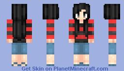 Marceline from adventure time Minecraft Skin