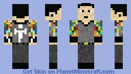Matt Heafy - Trivium Minecraft Skin