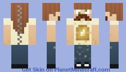 Toast Zombie Girl Minecraft Skin