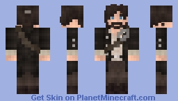 The Forever Travelling Minecraft Skin