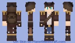 Captain Oak Minecraft Skin