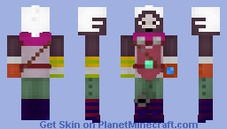 Ekko - League of Legends - Minecraft Skin