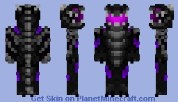 Ender Dragon Inspired Dragon Minecraft Skin