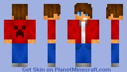 ~Mah First Eva Guy Skin!!!~ ;-; it looks liek J.B. Minecraft Skin