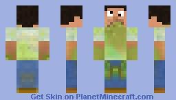 Vomit guy Minecraft Skin