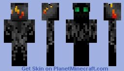 Emerald Ghost Minecraft Skin