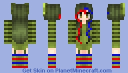 Springtrap girl Minecraft
