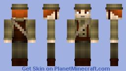 WWI British Soldier Minecraft Skin