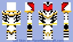 Abaranger White -Bakuryu Sentai- Minecraft Skin