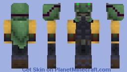 Omega Squad Teemo Minecraft Skin