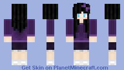 GGirl *with before and after pics Minecraft Skin