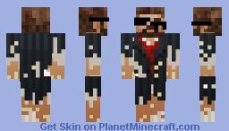 IceHornetEG Castaway Minecraft Skin