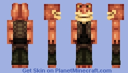 Jar Jar Binks Minecraft Skin