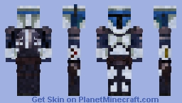Star Wars Bounty Hunter Jango Fett Minecraft Skin