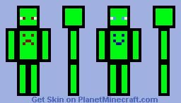 Split Personality Minecraft Skin