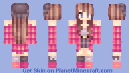 500 substers c: Minecraft Skin