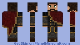 Haljmar Blad-Raven, Lord of Bjornhold Minecraft Skin