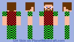 Pixelman Minecraft Skin